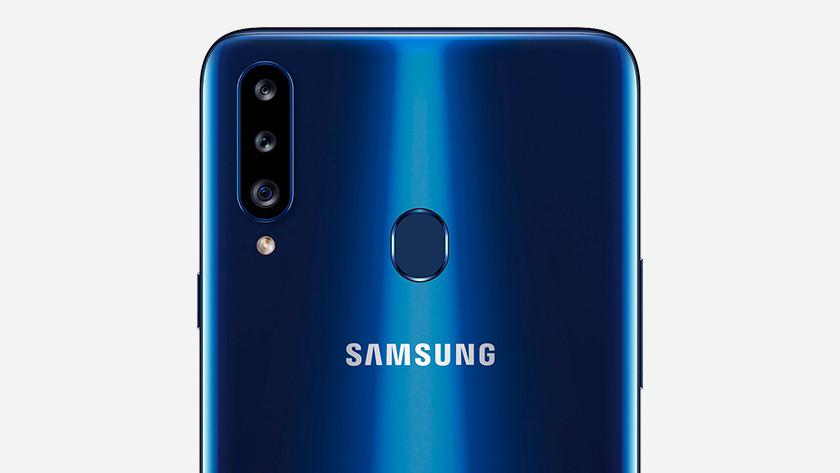 Samsung A21s of A20s foto maken