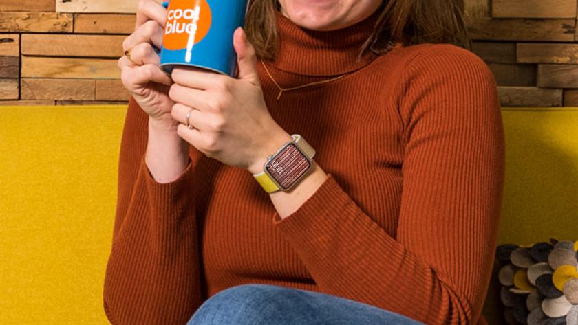 Apple Watch wijzerplaat van je shirt