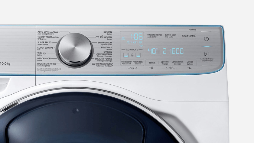Washing machine RPM
