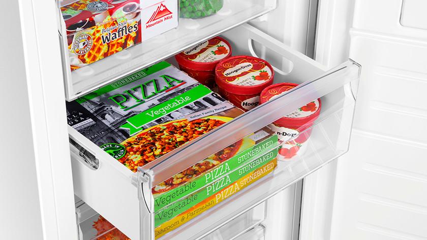 Turning on the freezer