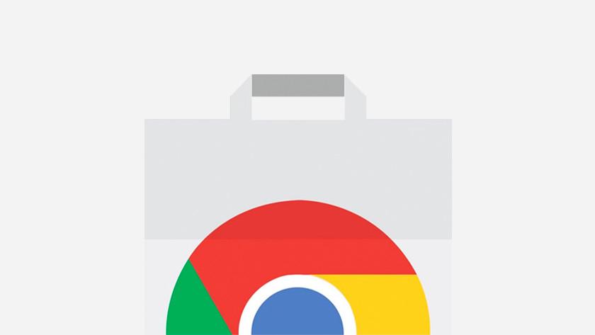 Icoon Chrome Web Store.
