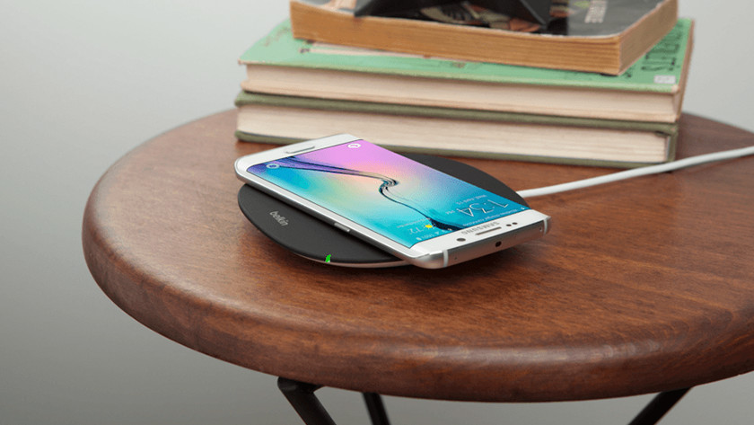 Wireless charging nightstand