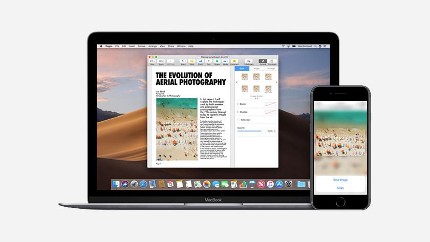 iPad continuïteit