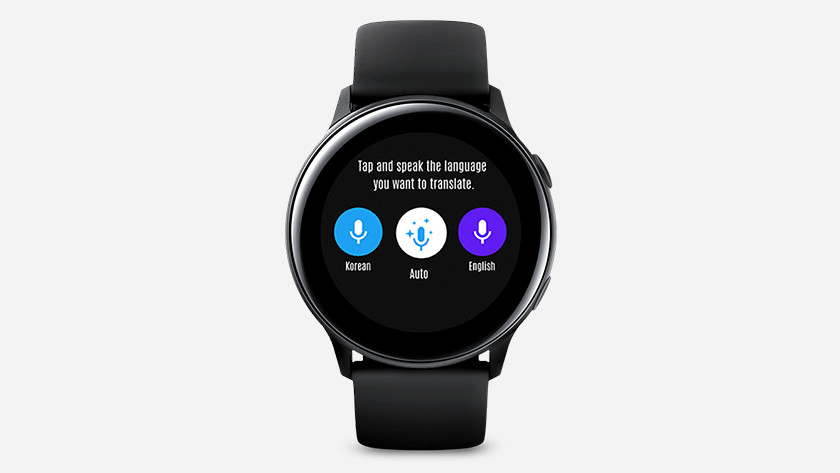 Google translate op Samsung Galaxy Watch Active2