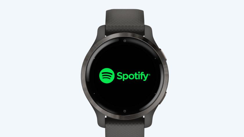 Garmin Venu 2 Spotify gebruiken