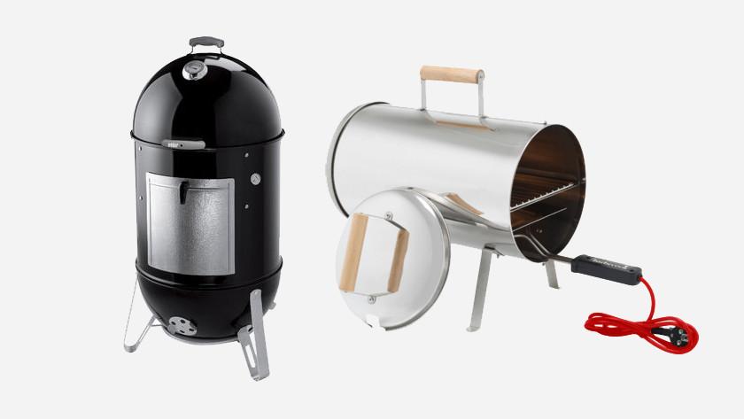 Hedendaags Hoe kan ik gerechten op mijn houtskool bbq roken? - Coolblue SB-18
