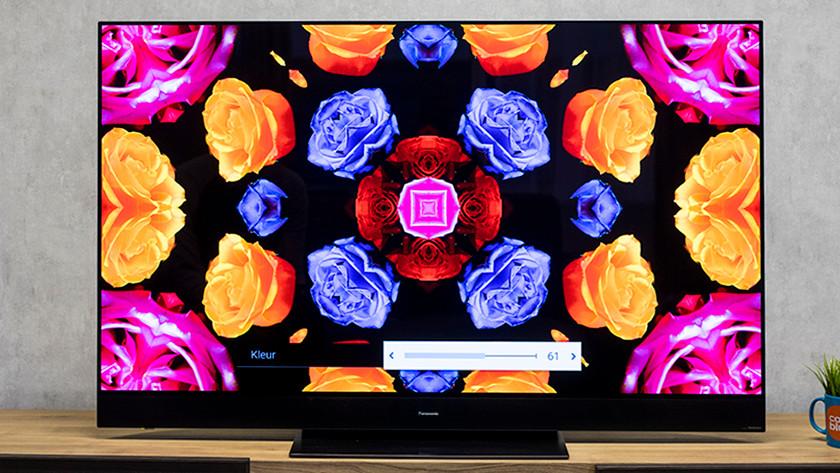 Set TV color
