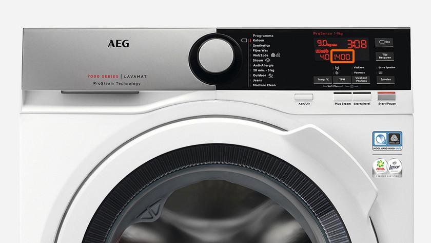 Wasmachine 1400 toeren