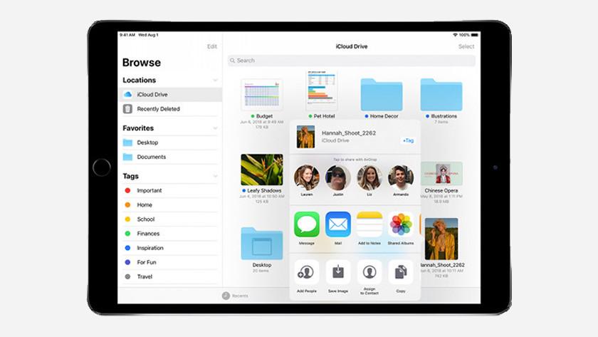 iCloud collaboration