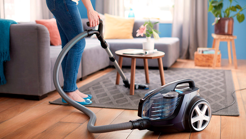 Weight of vacuum without bag