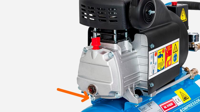 Aftapplug compressor olie