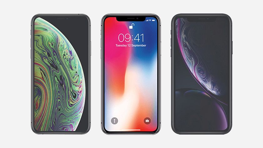 Apple iPhone Xs space gray iOS 12