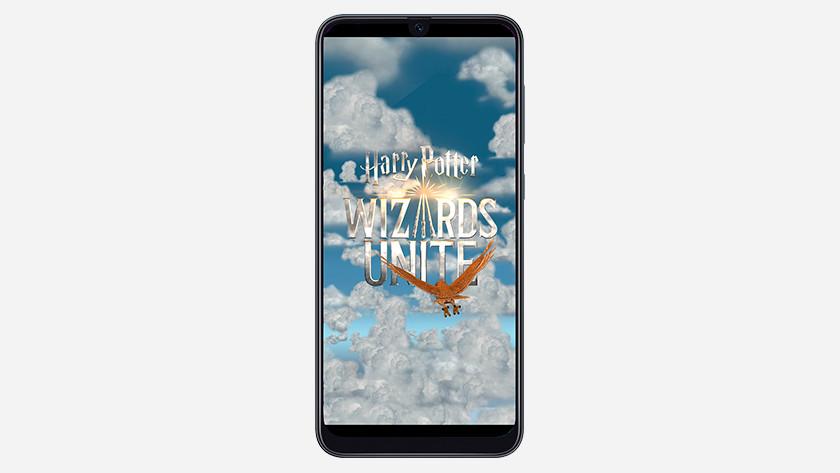 Harry Potter Wizards Unite smartphone