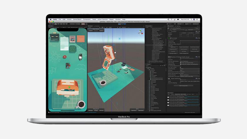 Apple MacBook Pro 16 inch rekenkracht