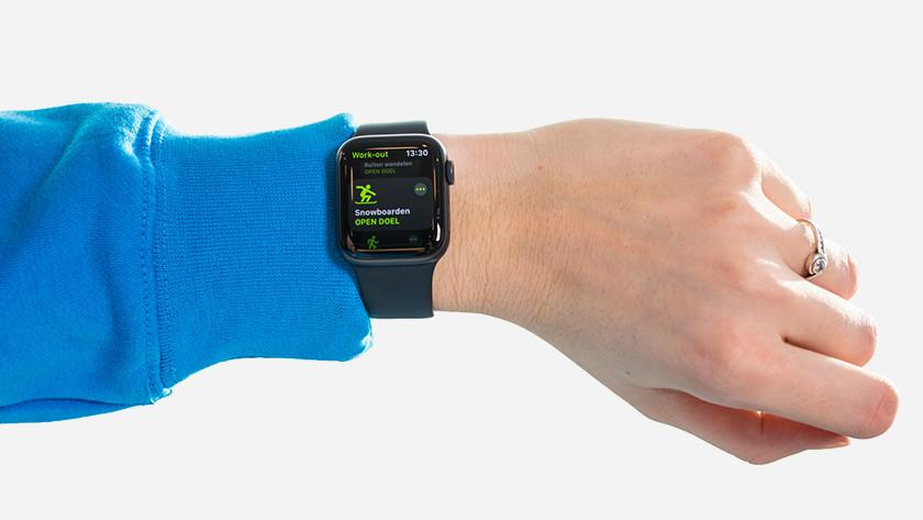 Apple Watch activiteiten app wintersport