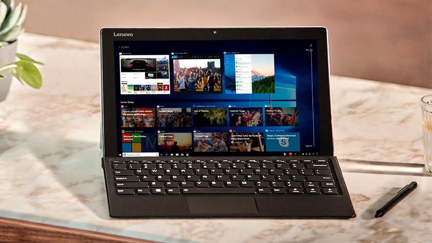 Lenovo 2-in-1 laptop.
