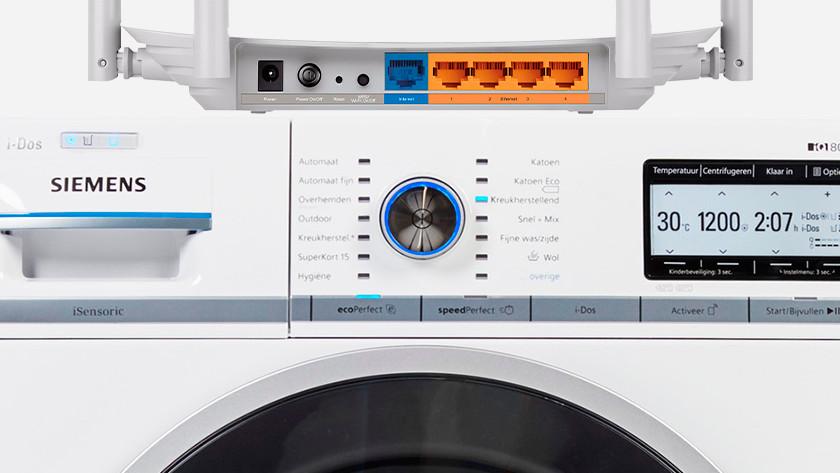Router Siemens wasmachine