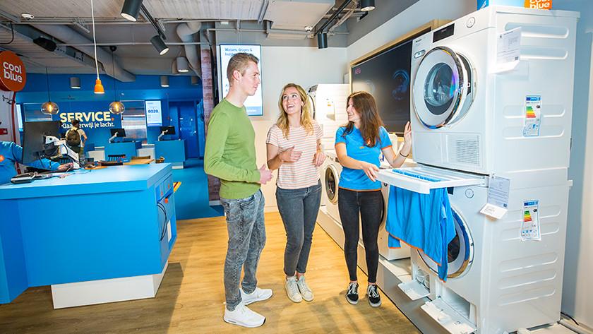 Washing machine Coolblue store