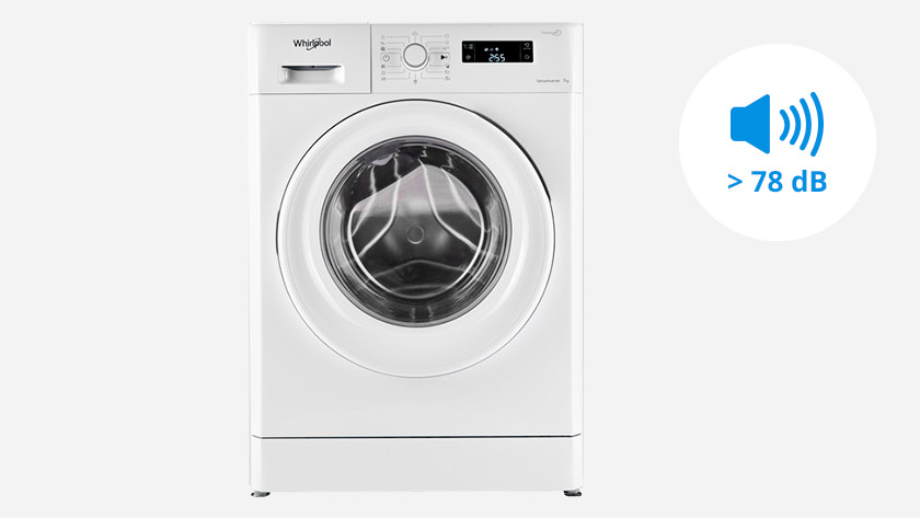 Luide wasmachine