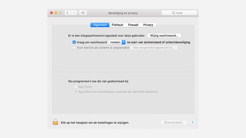 MacOS geen virusscanner nodig