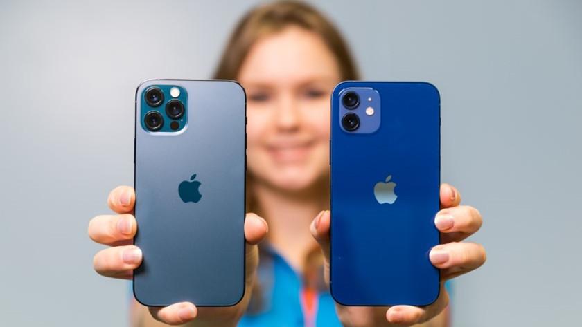 iPhone 12 Pro en iPhone 12