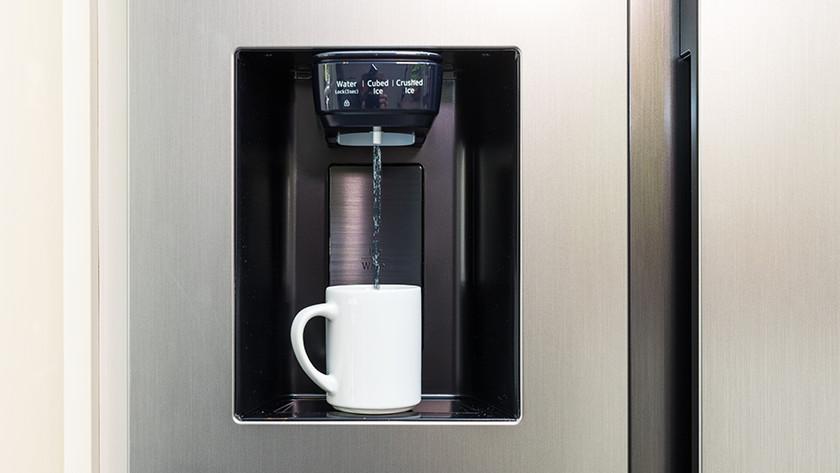 Dispenser Amerikaanse koelkast