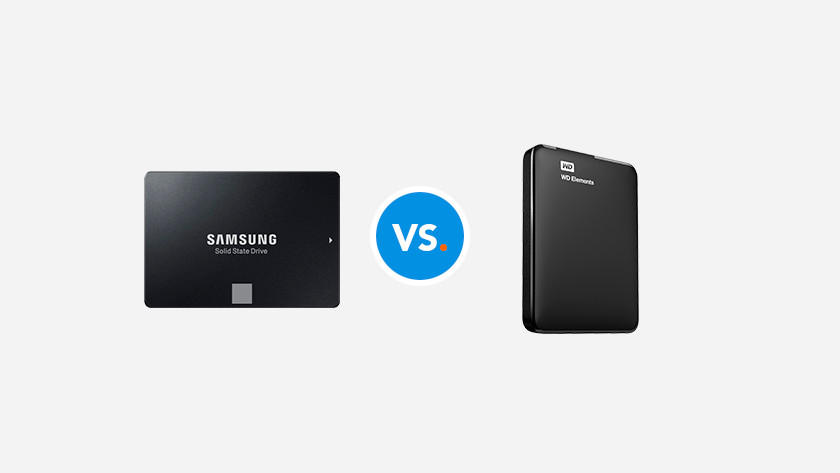 A Samsung SSD and WD hard drive.