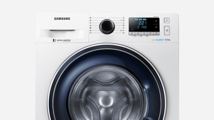 Samsung wasmachine led display