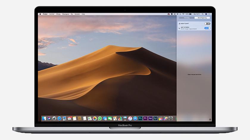Do Not Disturb mode on MacBook
