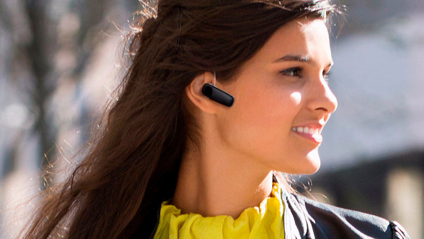 Bluetooth headset in oor