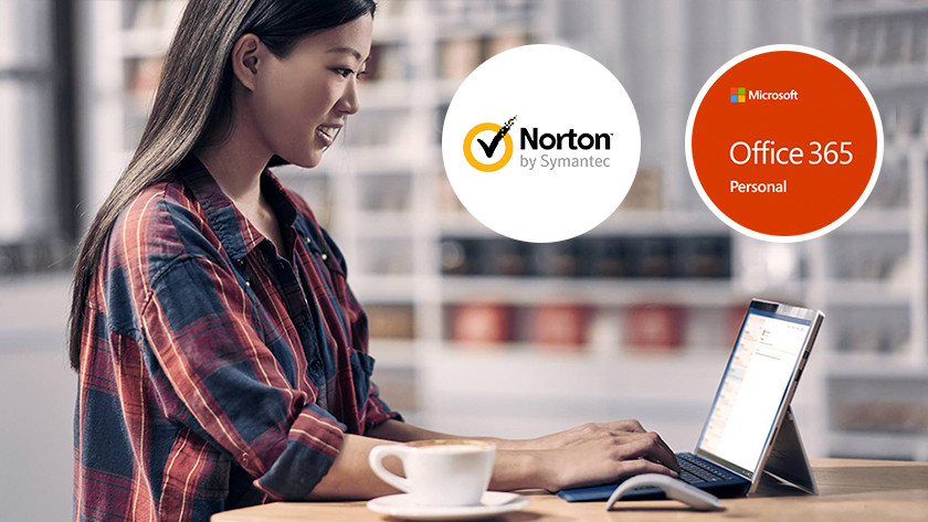Work computer 2-in-1 device laptop Norton Microsoft Office 365 program