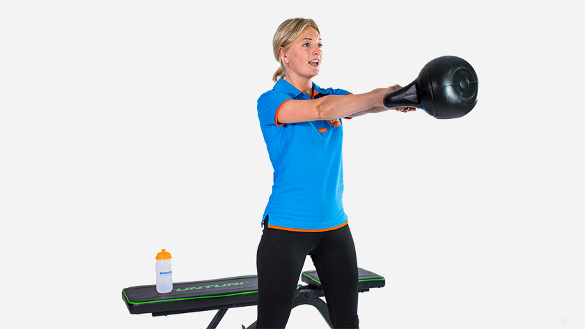 Kettlebell for experienced athletes