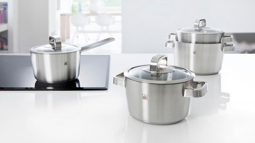 different sizes BK cookware