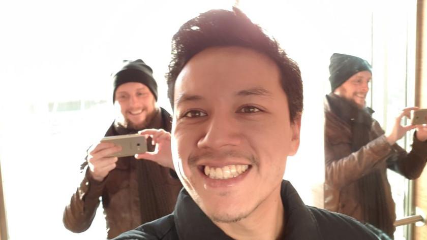 A5 selfie