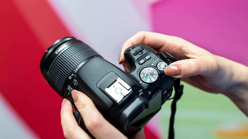 camera uitzetten en opbergen
