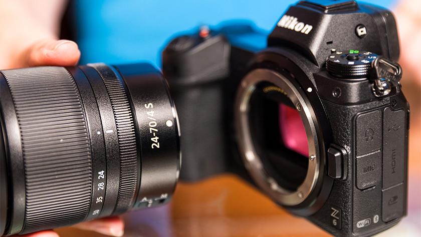 Lensvatting Nikon systeemcamera's