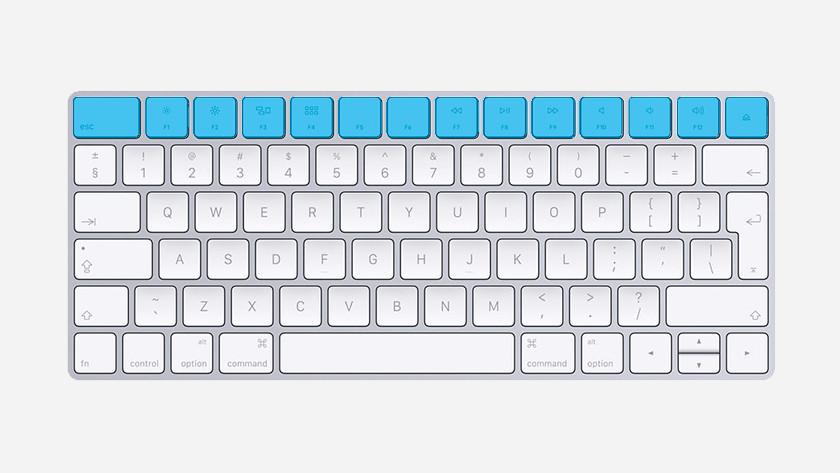 Apple MacBook functietoetsen