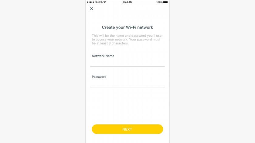 Maak verbinding met je nieuwe wifi netwerk