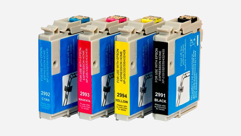 Inkjetprinter cartridges