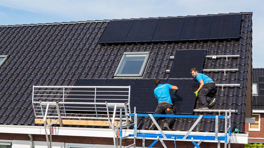 Aantal zonnepanelen kosten
