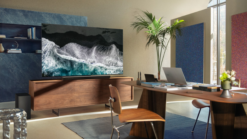 NEO QLED living room