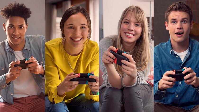 Samen spelen met Joy-Cons