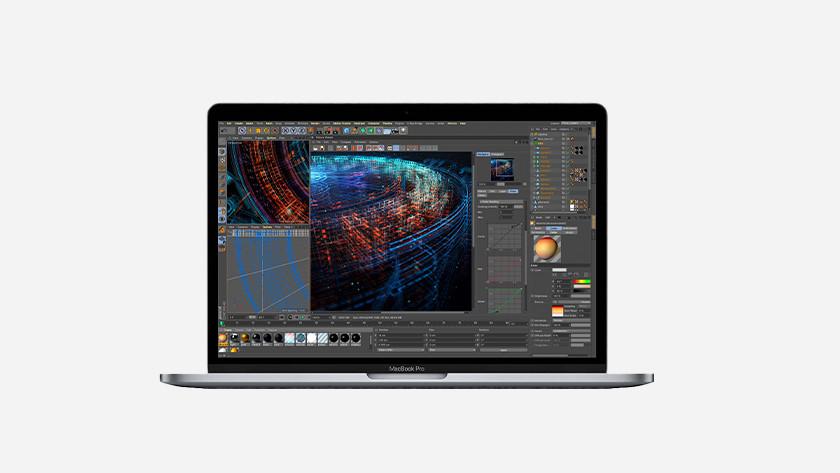 Apple MacBook Pro 13 inch videokaart