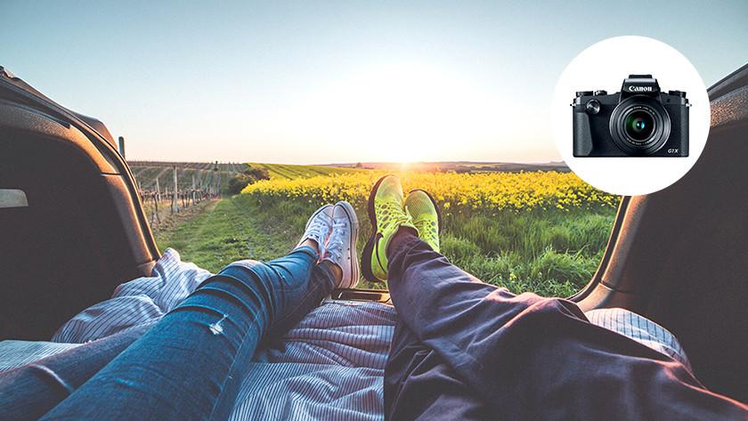 Compact camera kiezen