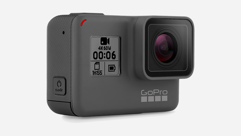 External features GoPro HERO 6