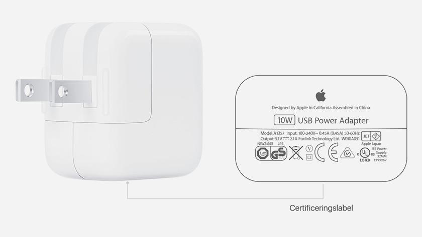 10-watt charger adapter iPad