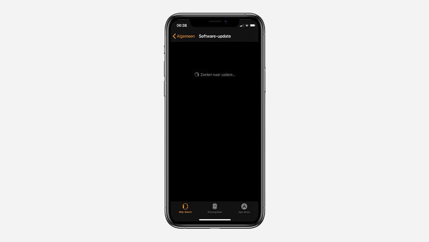 Jouw iPhone zoekt nu naar nieuwe updates