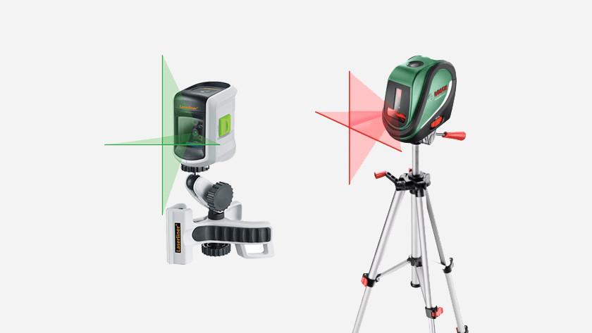 Rode laser versus groene laser