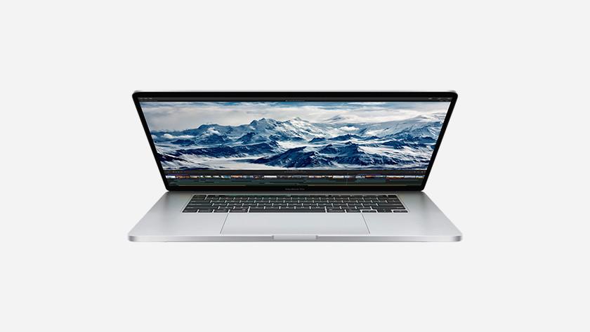Apple MacBook Pro 16 inches storage capacity