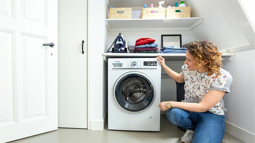 Install the washing machine